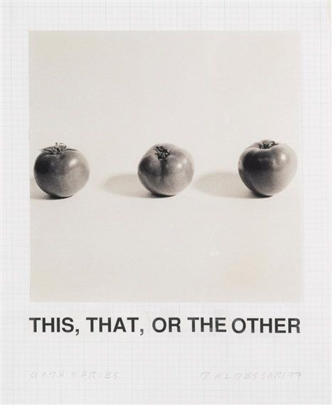 John Baldessari - Goya Series - 1997