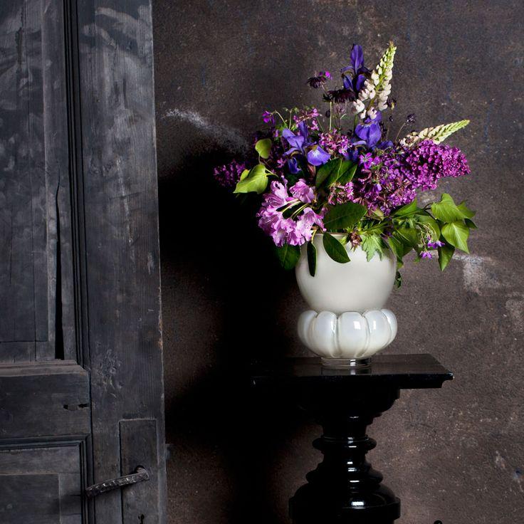 Padam Vase, Greige - - Målerås Glasbruk - RoyalDesign.com