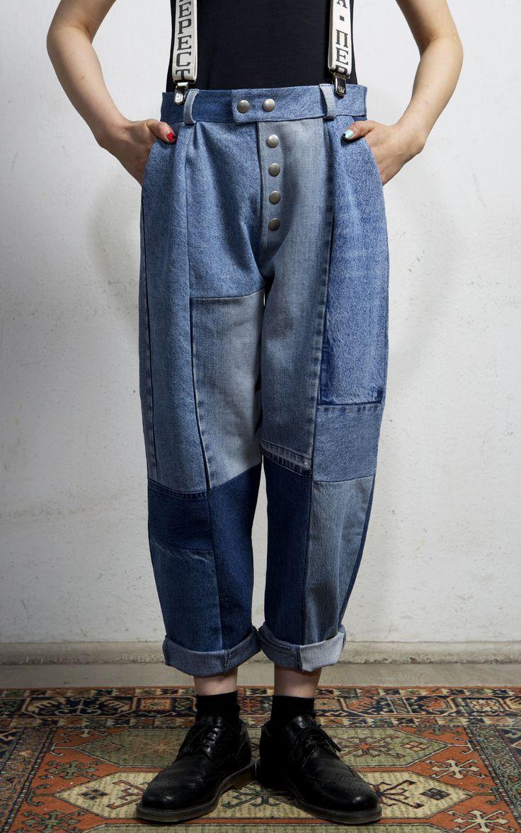 Cobalto Trousers Medium Blue