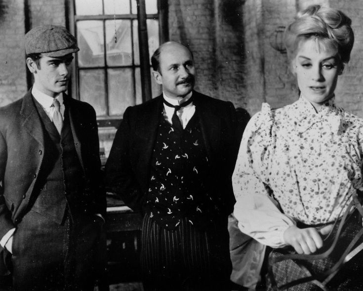 Sixties | Dean Stockwell, Donald Pleasence and Mary Ure in Sons and Lovers, 1960