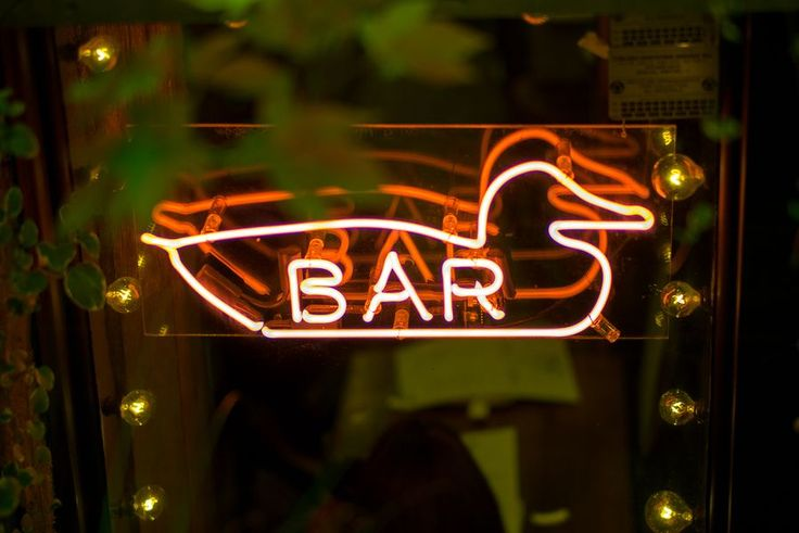 A Tour of Downtown NYC's Top Neon Bar Signs - Eater NY