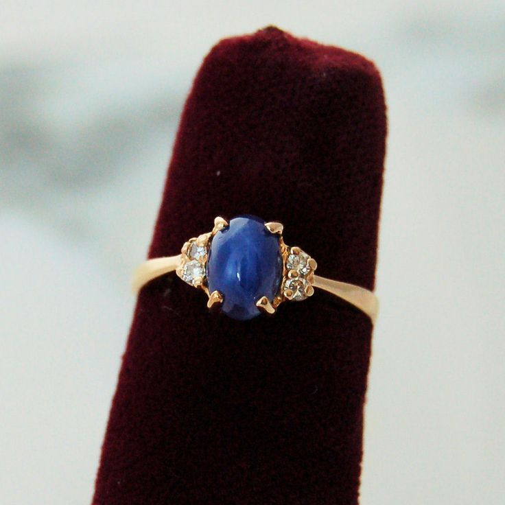1000 Images About Blue Star Sapphire Rings On Pinterest