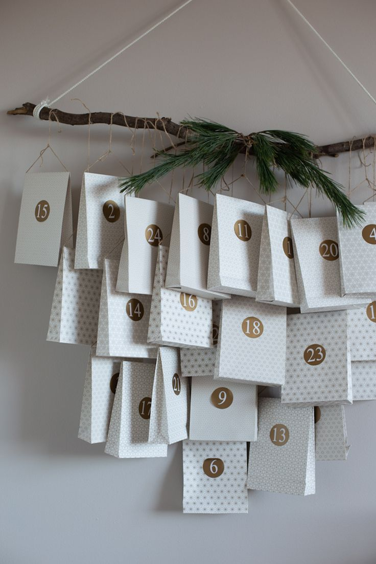 DIY Scandi Christmas Advent Calendar / My Scandina…