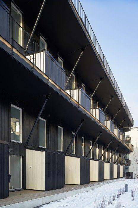 Mattisborgen - JoliarkProjektet nominerades till priset Årets Stockholmsbyggnad 2013 av Stockholms Stad