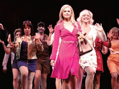 Blonde rights legally the musical