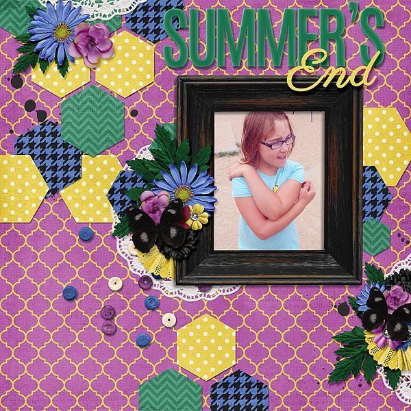 Layout using {Farewell Summer} Digital Scrapbook Kit by Aprilisa Designs  http://www.gottapixel.net/store/manufacturers.php?manufacturerid=135 http://store.gingerscraps.net/Aprilisa-Designs/