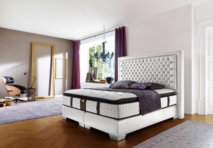 Luxus Boxspringbed Palace In 2019 Bed Bedroom Furniture