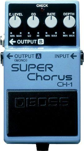 BOSS - CH-1 | Super Chorus