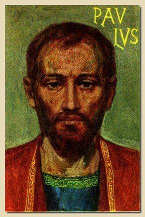 l'Apostolo San Paolo graffito del secolo I