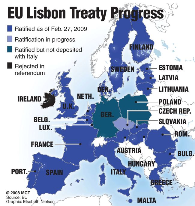 The Treaty of Lisbon (initially known as the Reform Treaty) is an international agreement which amends the two treaties which form the constitutional basis of the European Union (EU). The Treaty of Lisbon was signed by the EU member states on 13 December 2007, and entered into force on 1 December 2009. It amends the Maastricht Treaty (1993), which also is known as the Treaty on European Union, and the Treaty of Rome (1958), which also is known as the Treaty establishing the European…