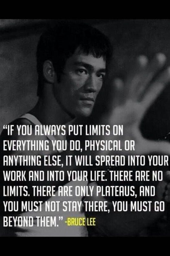 If You Always Put Limits