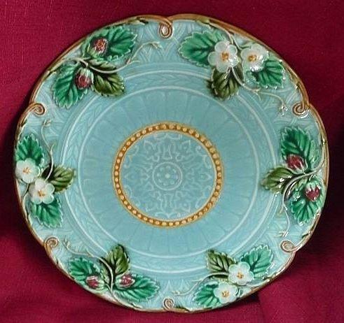 Roseville Pottery Cosmos Blue Basket 357-10 Vintage