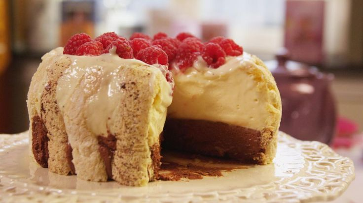 Biscuit met witte en donkere chocolade | VTM Koken