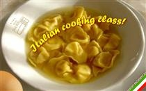 The cooking class starts with the first basa of the italian cooking: the hand made egg pasta!  Find it at Villa Roncuzzi, Ravenna, Italy