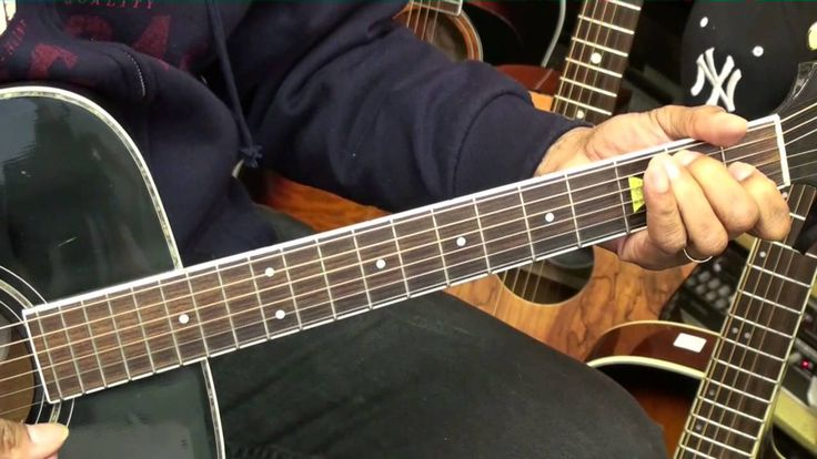 Old School 12 Bar Blues Guitar Lesson #8 Eric Clapton Style Chords EricB...