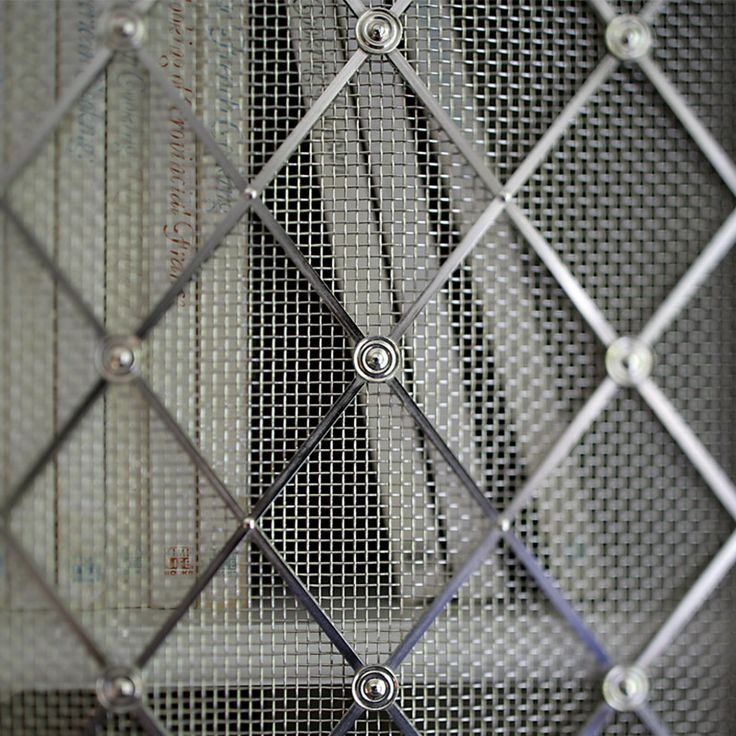 Decorative Grilles and Mesh - Gregory Croxford Living