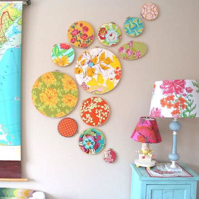 Fabric wall hanging decoration : Best ideas about fabric wall decor on