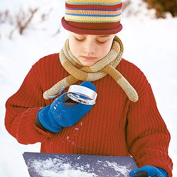 11 Fun Winter Activities for Kids - like have students use a