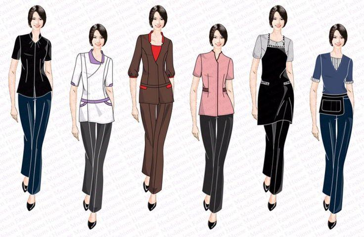 1000 ideas about spa uniform on pinterest spas beauty for Spa receptionist uniform design