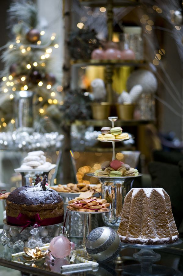 Christmas sweets in Florence, Italy