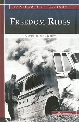 Freedom Rides - Dale Anderson.  In May 1961, African-American and white civil rights activists set out from Washington, D.C. They travelled on buses to the South to test a U.S. Supreme Court decision declaring that interstate bus stations had to be integrated. Violent attacks in Southern states forced a stop to the Freedom Rides, as the trips became known, but soon other brave activists joined the riders.