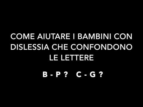 B o D? Come aiutare i bambini con Dislessia che confondono le lettere – Official Site Dr.GianlucaLoPresti