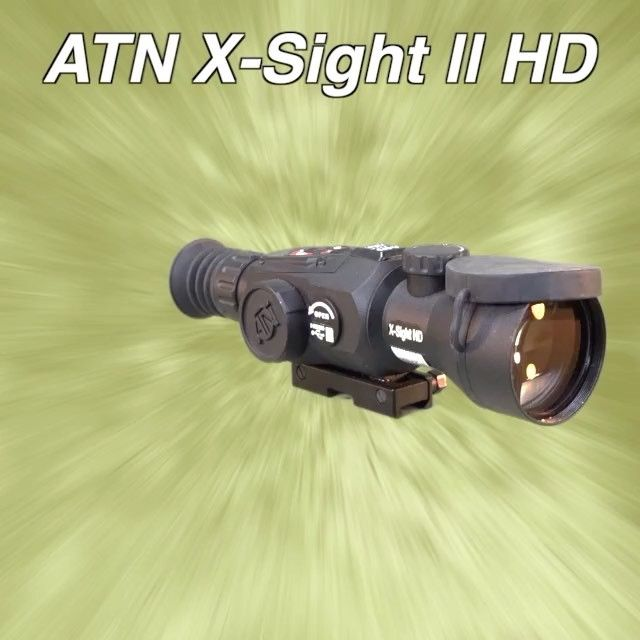 You can practically see into the new year with this. Breaking digital barriers with the ATN X-Sight II HD rifle scope. Full video @YouTube.com/fmgpubs  #pewpew #igmilitia #atn #digital #scope #2a #optics