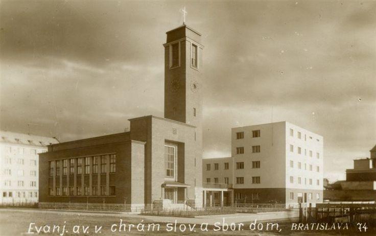 Kostol Ev, Milan Michal Harminc