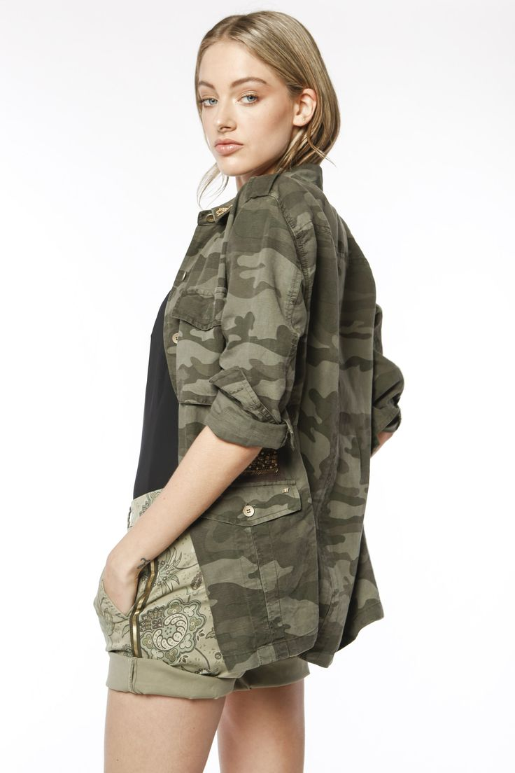 Short Mason's donna modello Jaqueline Curvie stampa cachemire - Masons
