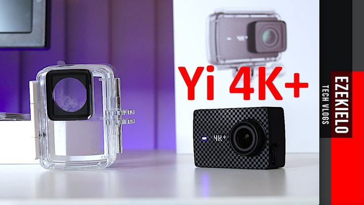 Yi 4K+ | World's First Action Camera To Shoot 4K at 60FPS