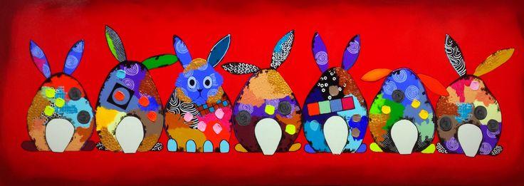 Rabbits ester steintjes