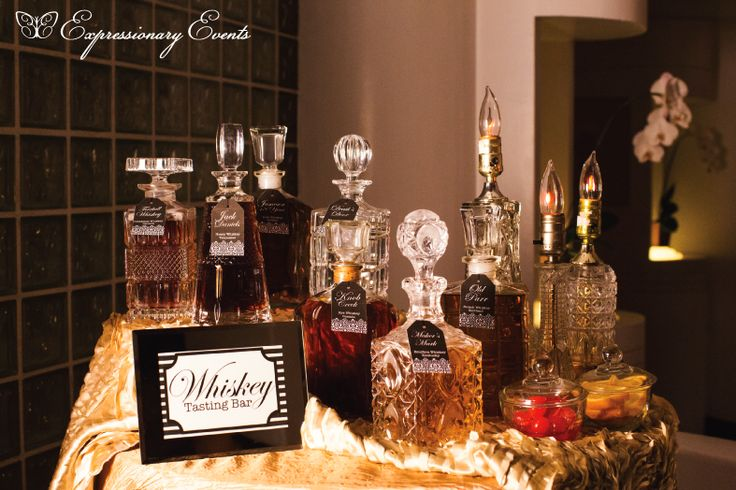 Great Gatsby Whiskey Bar is a must. Pair with a cigar bar for the ultimate Men's Lounge
