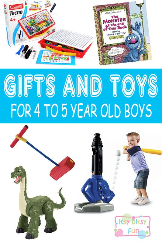 Best Gifts For 4 Year Old Boys. Lots of Ideas for 4th Birthday, Christmas and 4 to 5 Year Olds