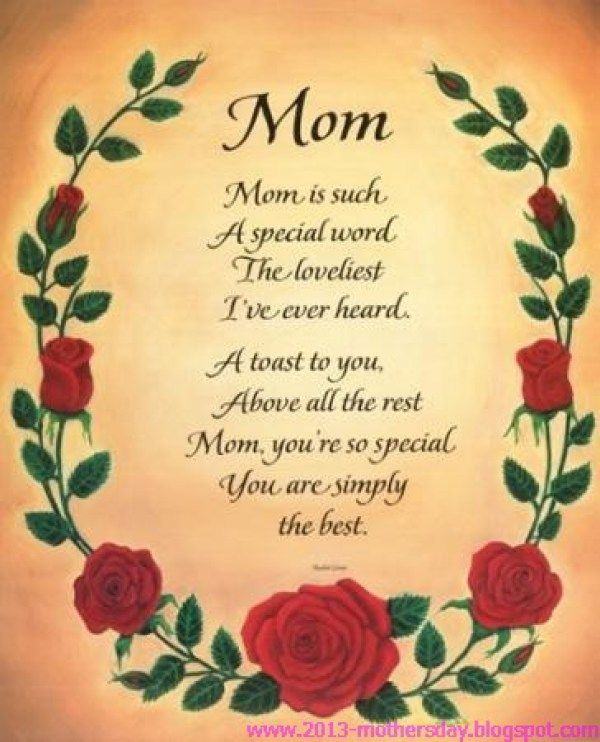 Happy Mother Day Card For Wish
