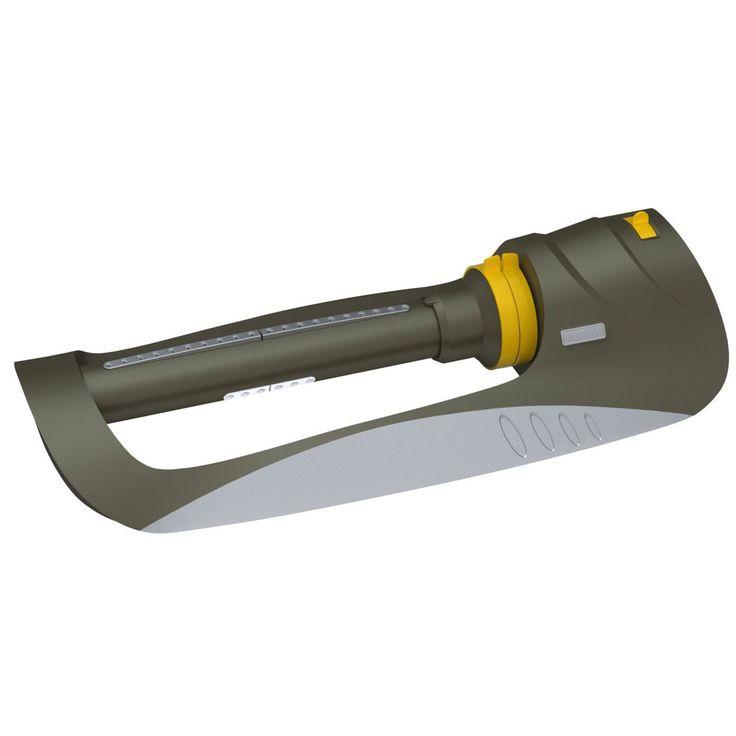 Nelson 50945 Triple Spray Rezimar Oscillator Sprinkler (Oscillating Sprinklers), Grey