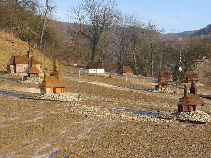 Miniskanzen drevených chrámov 1