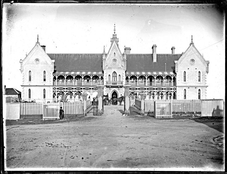 Newcastle Hospital Newcastle East, NSW, 1890   by UON Library,University of Newcastle, Australia