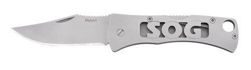 SOG Micron 2.0 Multi Tool Bead Blasted Clip Point CP