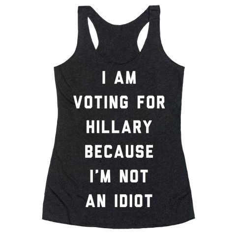 Show off your political views with this funny, presidential meme, Hillary Clinton inspired shirt! Yes, both candidate suck, but there is only one real choice and that is Hillary.