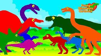 Il treno dei dinosauri Episodio 10 Il Pigiama Party Cartoni animati per bambini - YouTube