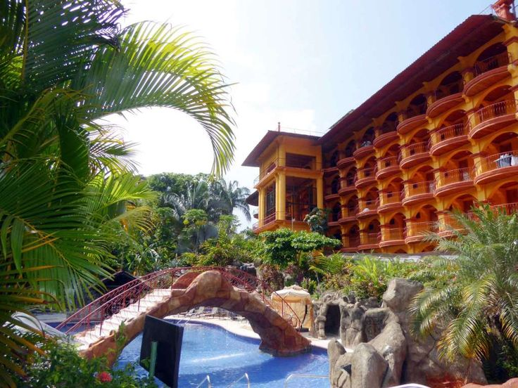 A pool at Hotel San Bada in Costa Rica.