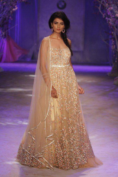 http://JyotsnaTiwari.com/ collection at BMW @IndiaBridalWeek #IBFW2014 (August)