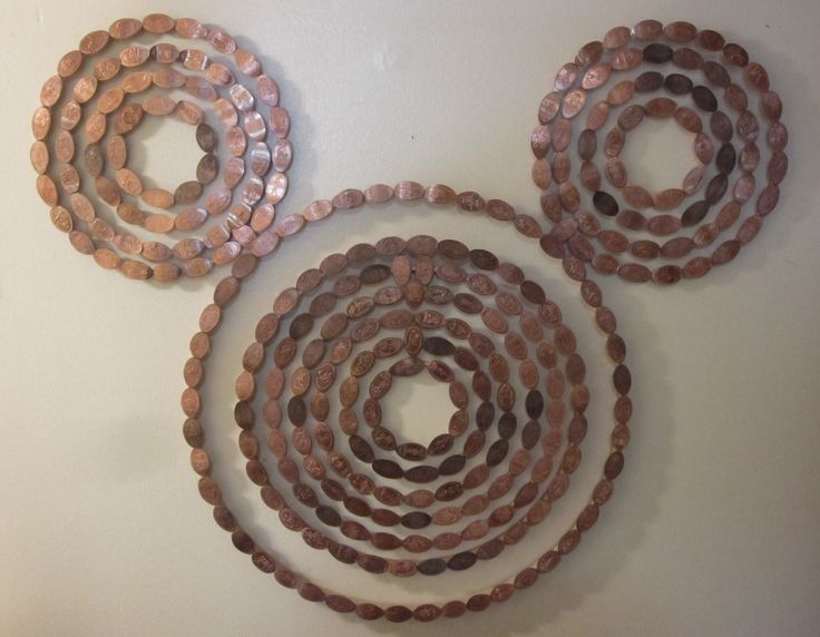 Pressed Penny display. Pretty awesome!  That's a lot of Penny Presses though!!!