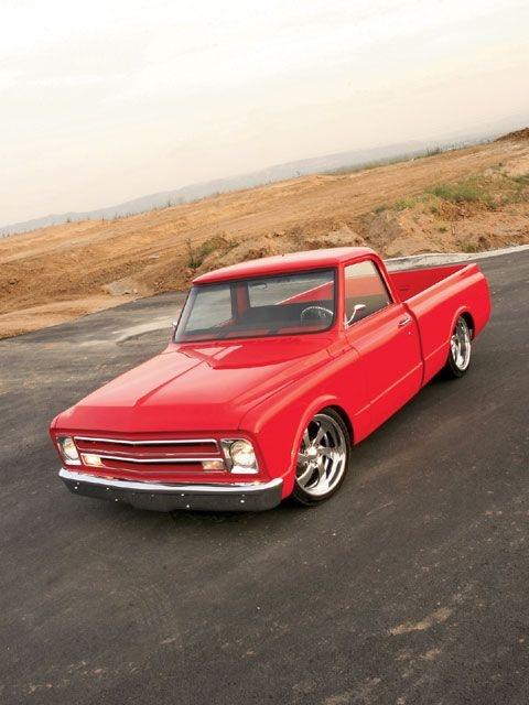 1968 Chevy C10. Beautiful truck!