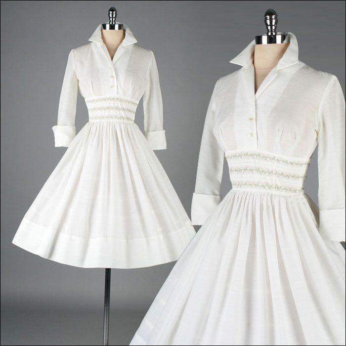 Best 25+ White cotton dresses ideas on Pinterest | Vintage ...