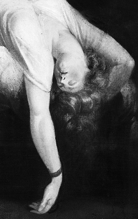 The Nightmare (detail) Fuseli, 1781