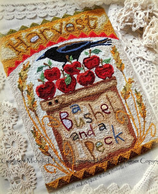 Michelle Palmer: Hello, September punch needle designs!