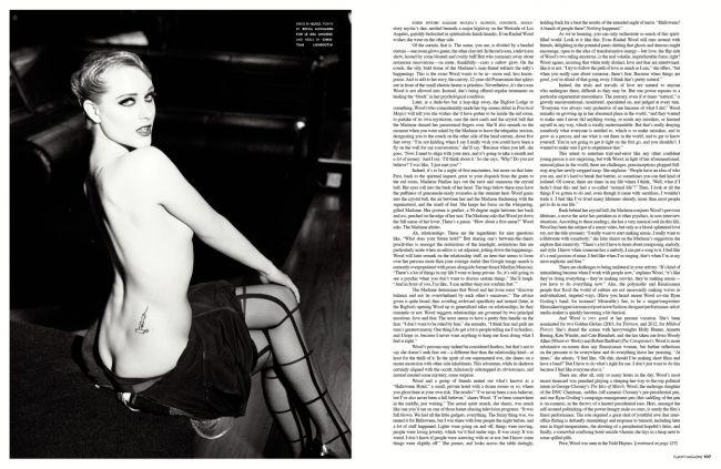 ERW-Flaunt Mag | Inspi... Evan Rachel Wood