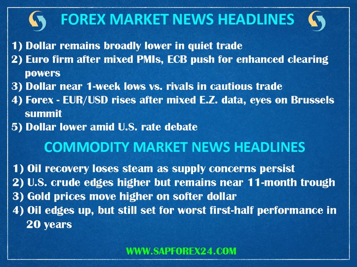 Forex trading news tips