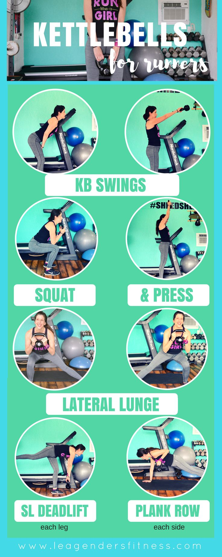 Beginner Kettlebell Circuit Workout for Runners — Lea Genders Fitness